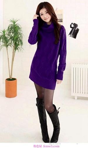 迷人的紫色让优雅带动新年