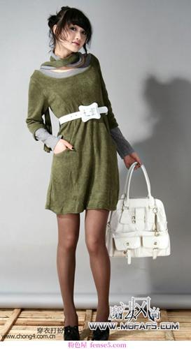 2008年初春最时尚的搭配