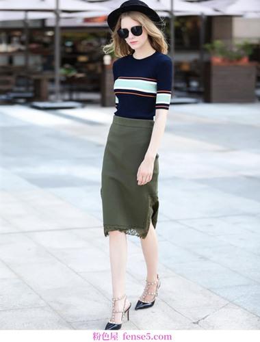 衣柜最喜欢的裙子:长肉&;腿型差,不怕