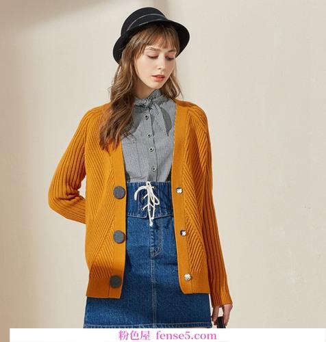 春天有很多种毛衣,长短羊毛衫是接力赛