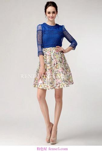 超短裙时尚是主要的新时尚