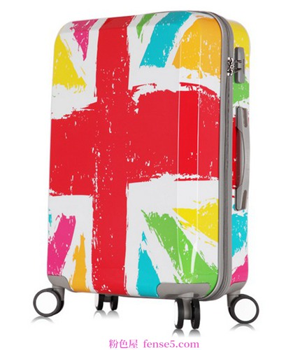 一个时尚的行李箱,陪你走遍世界
