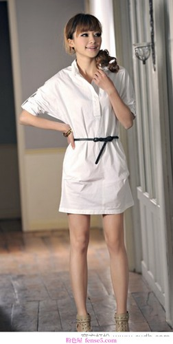优雅难忘的衬衫裙