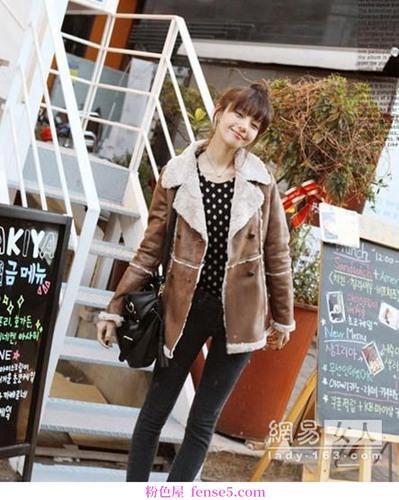 韩国网购是最受欢迎的棉衣
