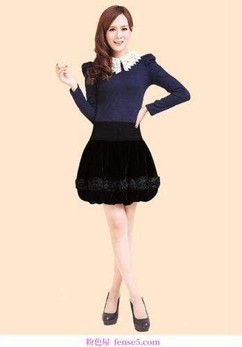 这条优雅的裙子会给你带来迷人的美丽