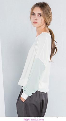 雪纺衬衫的百搭款式
