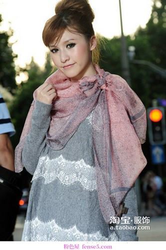 优雅实用的秋冬围巾