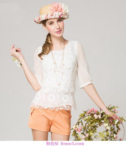 浪漫又酷的爱情雪纺衬衫