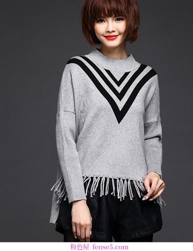 拒绝束缚,这样的毛衣值得拥有