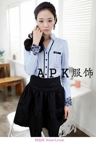 都市轻装成熟女性一定要有优雅的衬衫