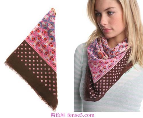 欧美风格围巾
