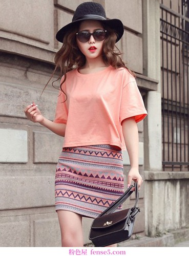 我喜欢短裙