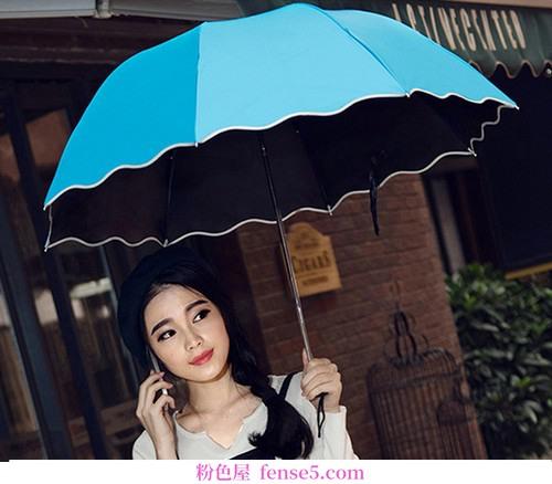 如果你很美,无论晴雨。