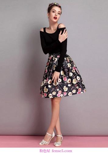 符合裙子的优雅