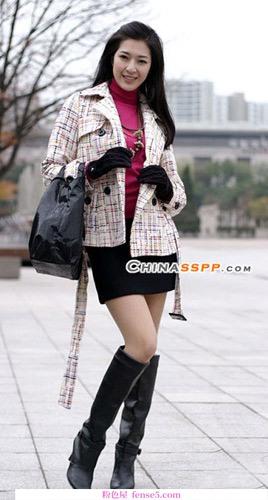 四件外套和短裙的组合