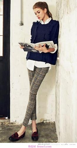 裤子是扮酷必不可少的