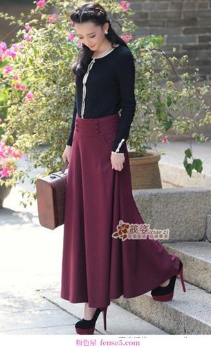 长度和长度都只适合裙子