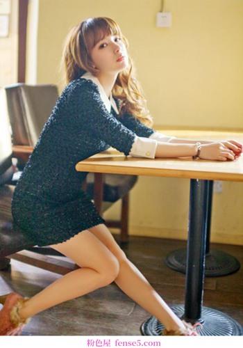 简单的裙子很好看,温暖又冷