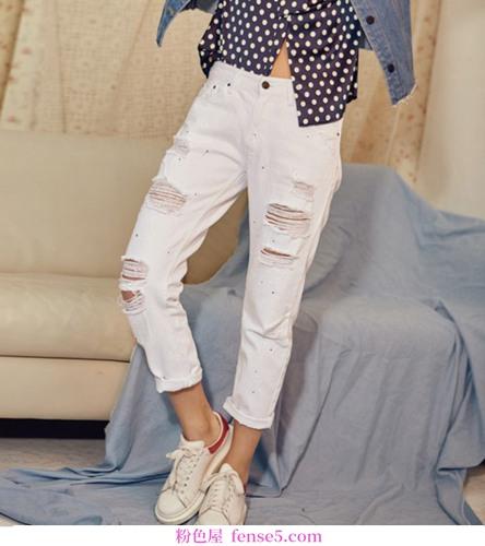 普通女性如何靠BF风牛仔裤成为女神