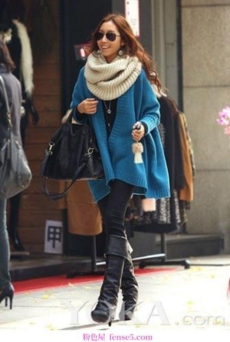 帅气的冬装保暖不臃肿