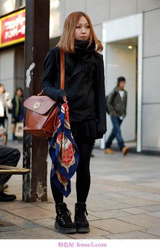 11月日本街头时尚达人秀