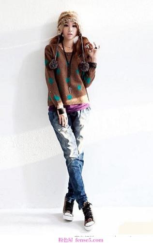 韩国街头时尚春装