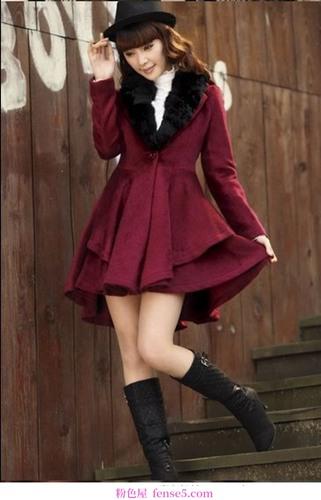 打扮成温柔的小把戏,萝莉时尚,年龄缩小